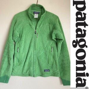 Patagonia Womens R2 Fleece Jacket Green